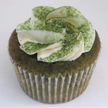 Azuki Green Tea Cupcake